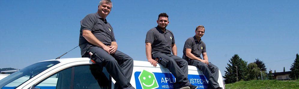 APLUS Haustechnik - das Team